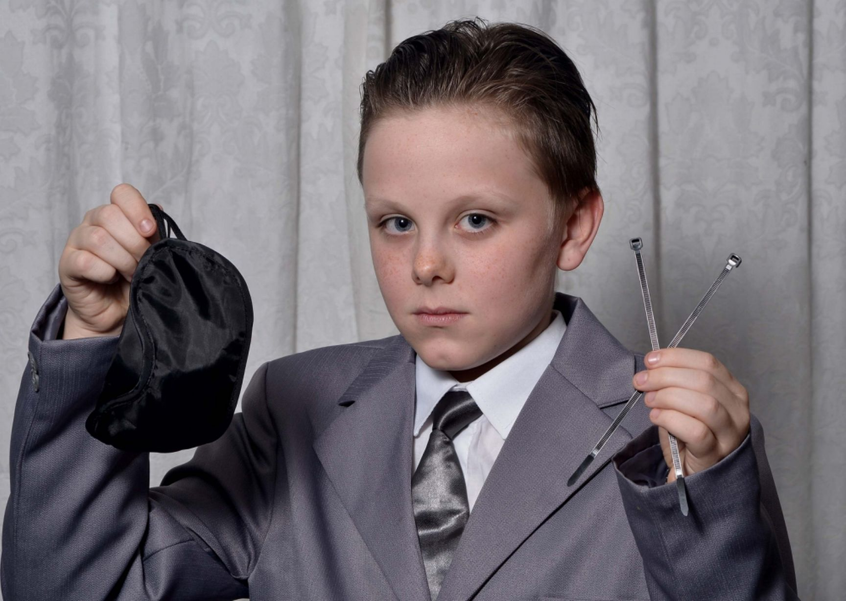 Fifty Shades Of Grey Costume Lands Schoolboy In Trouble Newsmobile