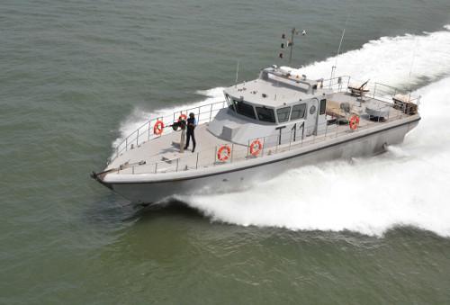 Navy boat sinks