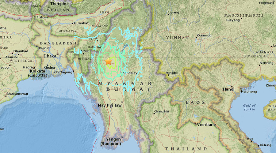 Earthquake measuring 68 jolts india myanmar border newsmobile earthquake measuring 68 jolts india myanmar border gumiabroncs Image collections