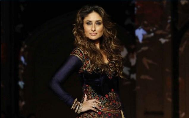 Kareena turns regal for Rohit Bal at Lakme Fashion Week finale ... c323289bc1