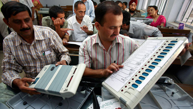 ballot paper, President Pranab Mukherjee, Sharmistha Mukherjee, congress, EVM, election, Digivijaya Singh, Jytiraditya Scindia, Mohan Prakash, K C Mittal, Vivek Tankha