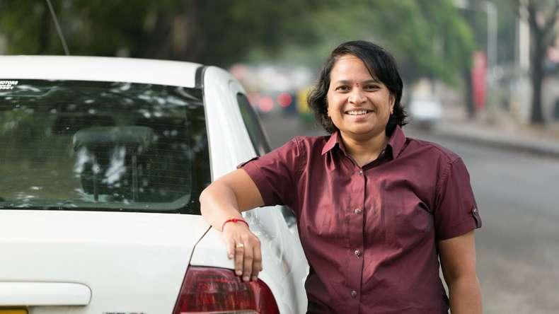 Uber, first woman cab driver, Bengaluru