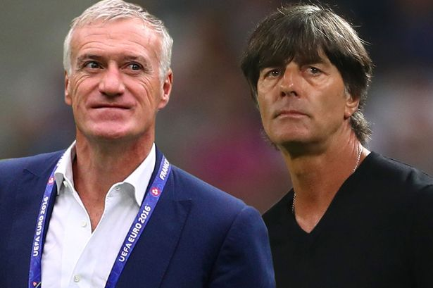 EURO, Football, Germany, France, Semi finals