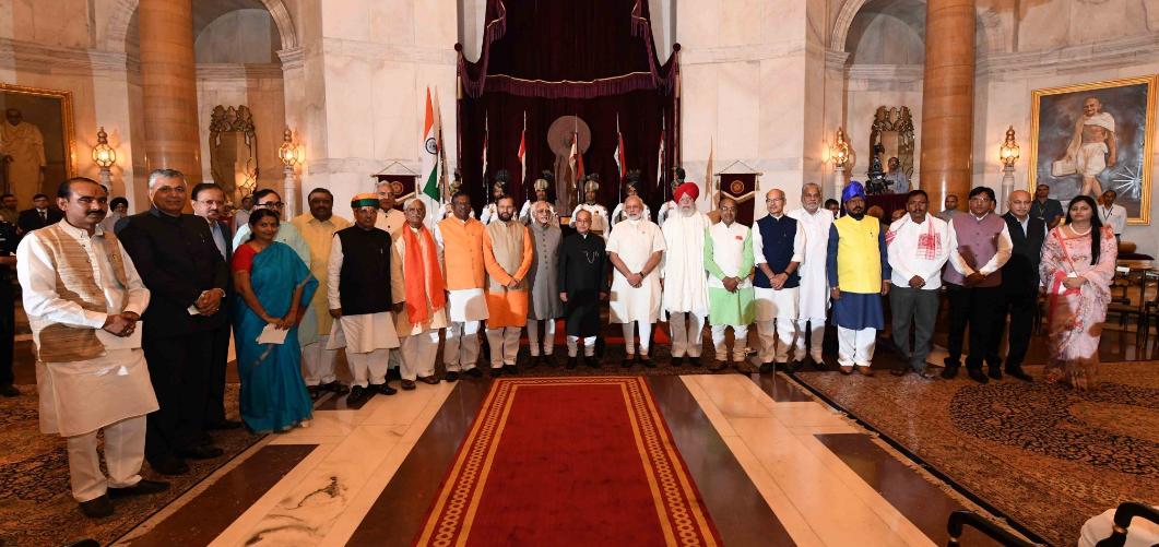 Narendra Modi, Prakash Javadekar, Vijay Goyal, Reshuffle