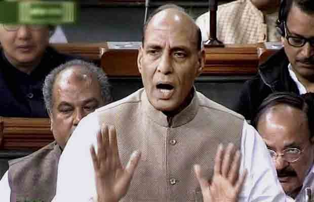 Rajnath Singh, Lok sabha, parliament, monsoon session