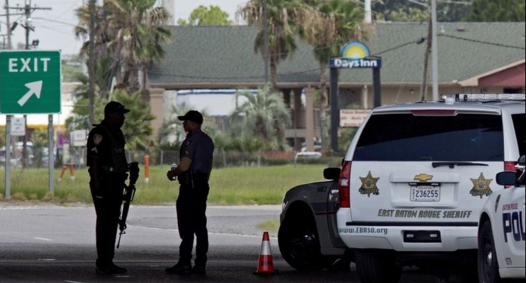 United States, US, shootout, Baton Rouge