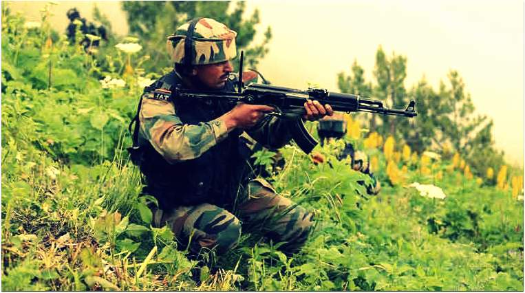 jammu and kashmir,Handwara,gunbattle,