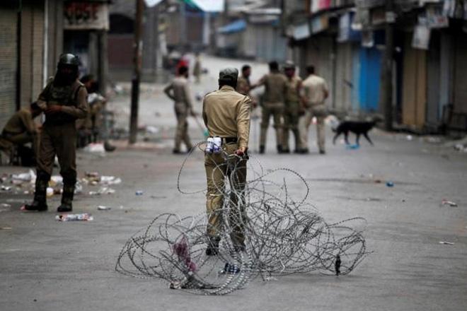 Curfew, Kashmir
