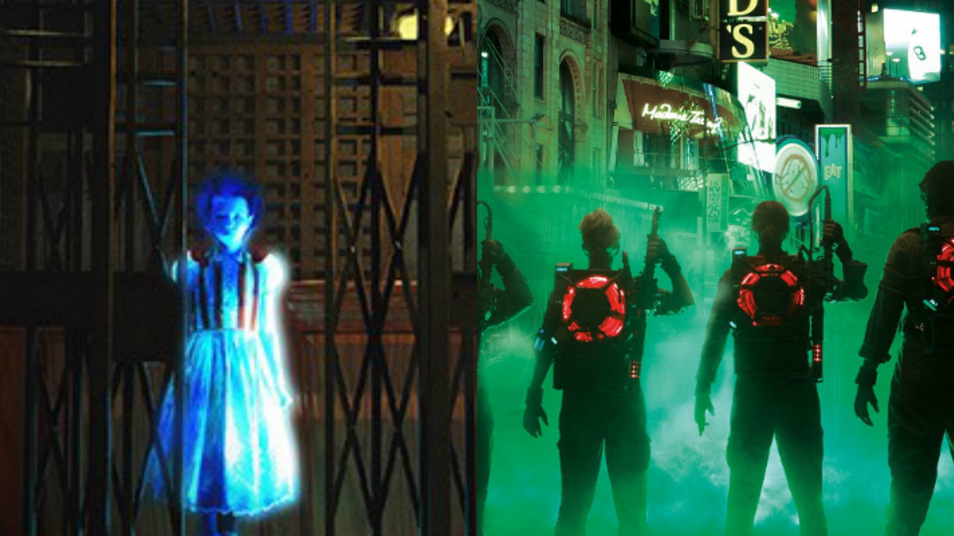 'Ghostbusters' virtual reality Exhibit at Madame Tussauds New York