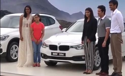P V Sindhu, Sakshi Malik, Dipa Karmakar, Pullela Gopichand, Sachin Tendulkar, BMW