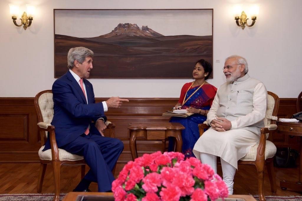 John Kerry, Delhi, PM Modi, Prime Minister, Narendra Modi, Rains, Smart CitiesJohn Kerry, Delhi, PM Modi, Prime Minister, Narendra Modi, Rains, Smart Cities
