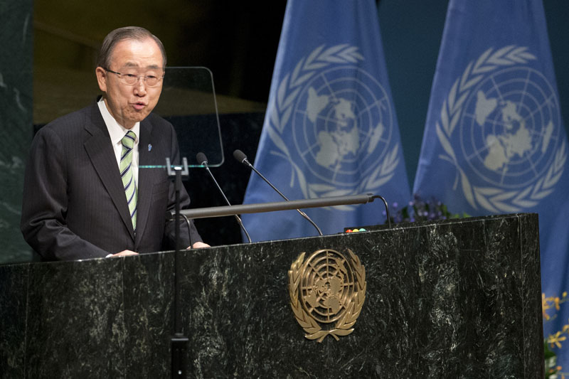 Ban Ki-moon, United Nations, Paris Climate Change