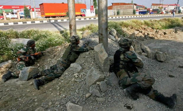 Army, convoy, attacked, J and K, terrorists, militants