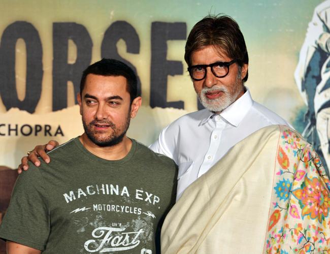 Amitabh Bachchan, Aamir Khan, Yash Raj Films, Thugs of Hindostan, Vijay Krishna Acharya, Diwali 2018