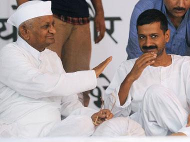 Anna Hazare , hope, Kejriwal