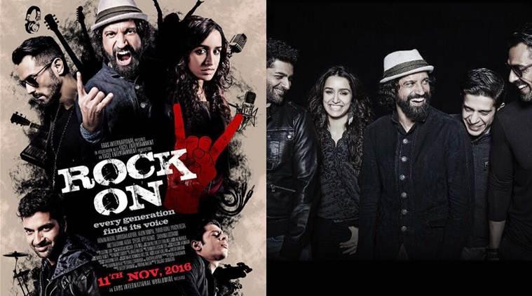 Rock On 2, Farhan Akhtar, Arjun Rampal, Purab Kohli, Prachi Desai, Shraddha Kapoor, Shashank Arora
