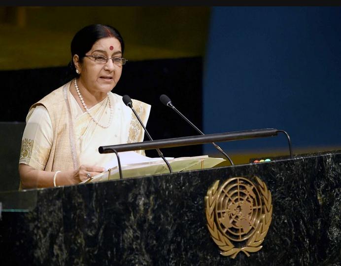 Sushma Swaraj, UNGA, United Nations, EAM, Pakistan, terrorism, terror, world, Jammu and Kashmir