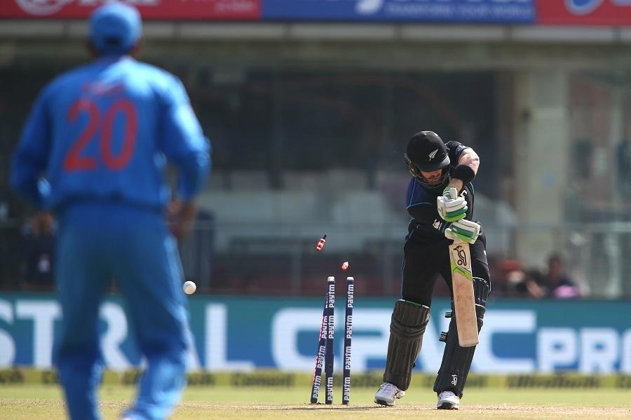 India, toss, second ODI, New Zealand, Feroz Shah Kotla Stadium, Rohit Sharma, Ajinkya Rahane, Virat Kohli, Manish Pandey, MS Dhoni (captain), Kedar Jadhav, Hardik Pandya, Axar Patel, Amit Mishra, Jasprit Bumrah, Umesh Yadav, New Zealand