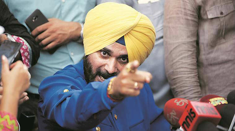 Punjab, Navjot Singh Sidhu, Punjab, Battle for States, NewsMobile, India, Amarinder Singh, resignation, BJP