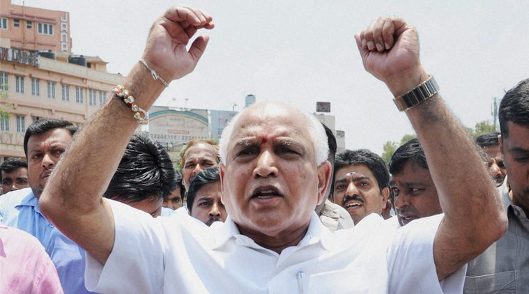 Battle For Karnataka, big margin, Yeddyurappa, Bharatiya Janata Party, BJP, NewsMobile, Mobile News, India