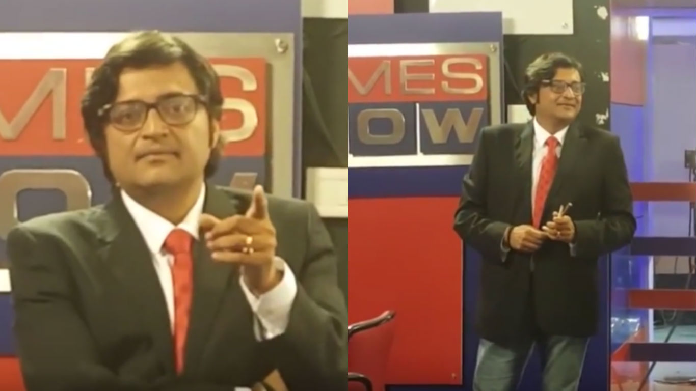 Arnab Goswami, Editor-in-Chief, Times Now