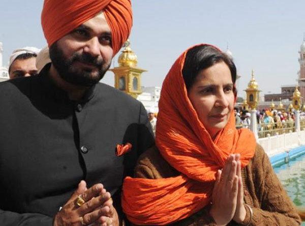 Navjot Singh Sidhu, Navjot Kaur Sidhu, Bharatiya Janata Party (BJP), Randeep Surjewala