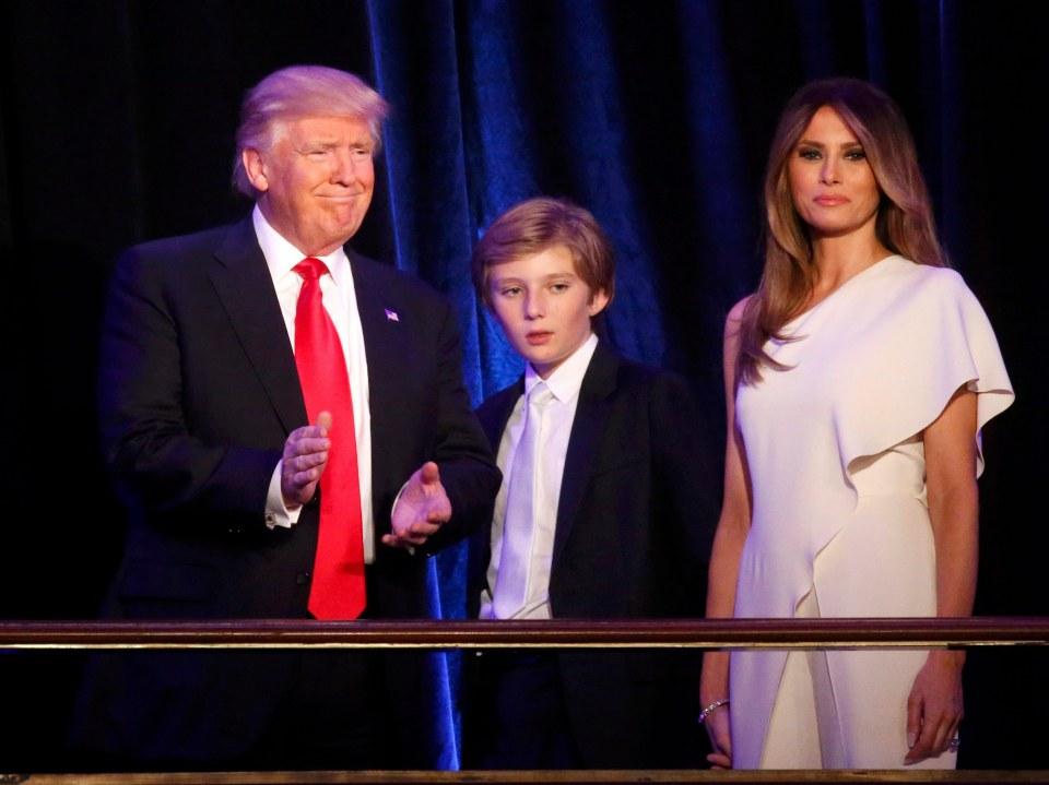 First Lady, Melania Trump, Barron, Donald Trump, president-elect