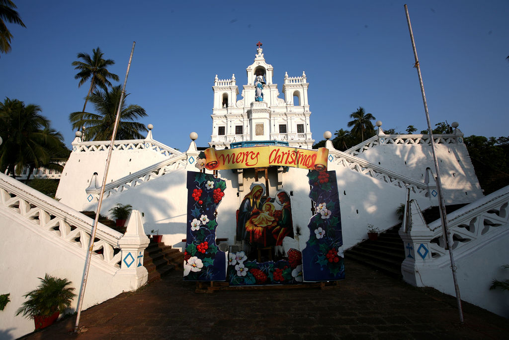 Christmas, goa, India, festival, tourism, , churches, demonetisation,