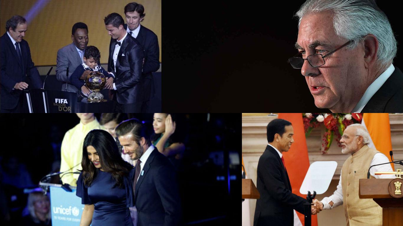 NewsMobile Mid-day wrap, ExxonMobil, Secretary of State, Rex Tillerson, Demonetisation, India, Indonesia, Priyanka Chopra, UNICEF, Global Goodwill Ambassador