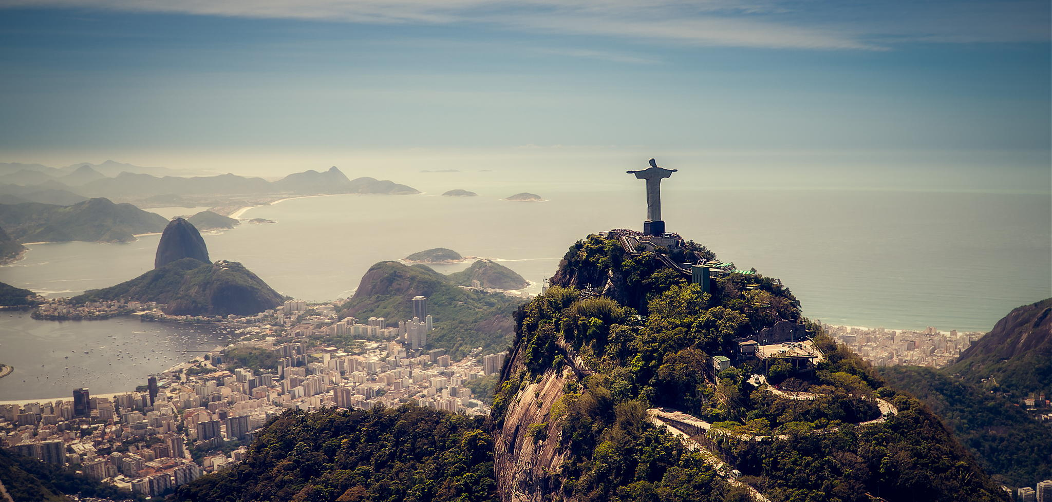 Rio de Janeiro, Marvelous City, UN's list of world heritage sites, UNESCO, world heritage site, Flamengo Park, Sugarloaf Mountain, the Corcovado, Copacabana beach, the Botanical Garden, Tijuca forest