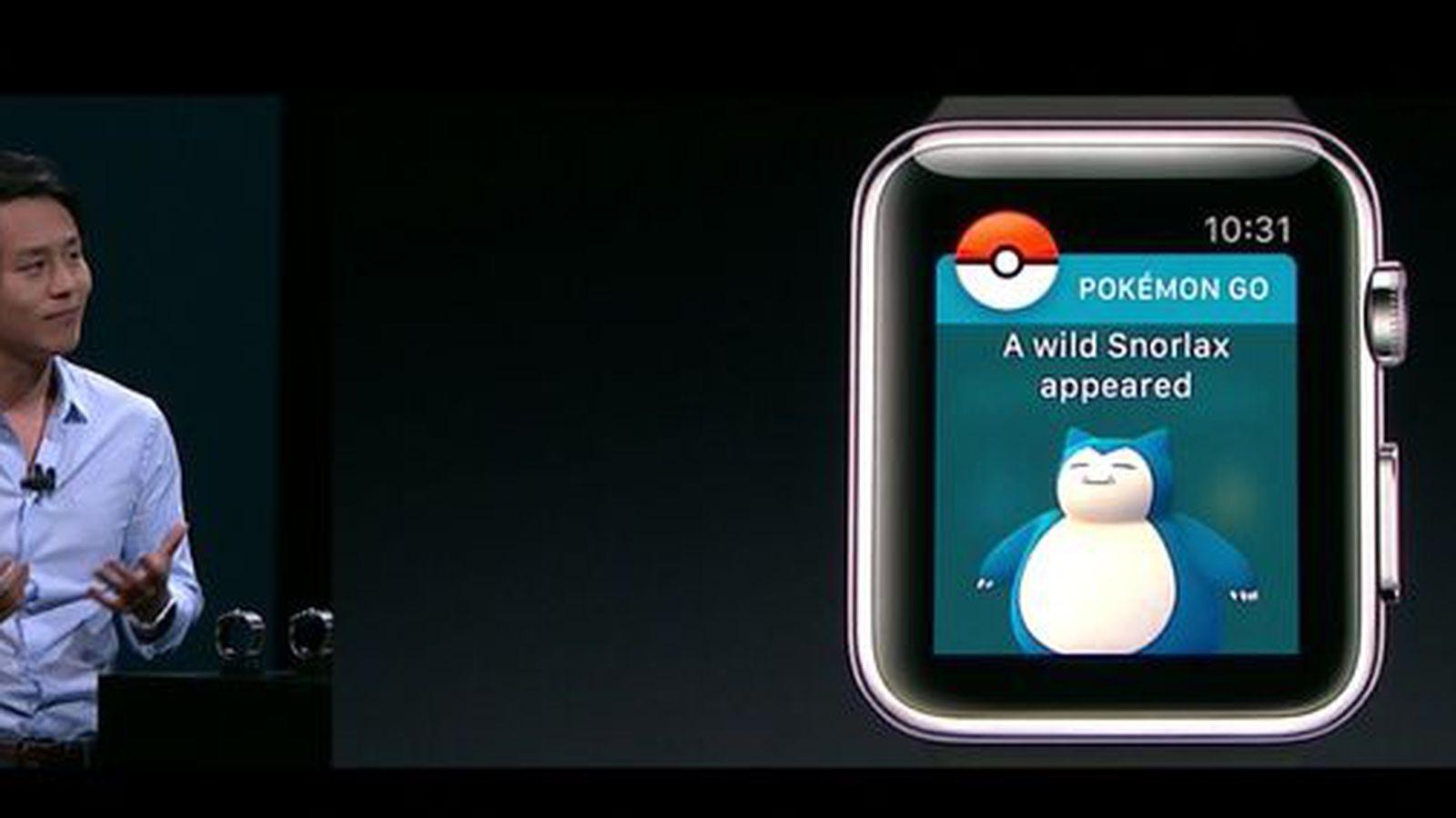 Pokemon Go, Niantic, Apple, Apple watch, develop, Pokemon
