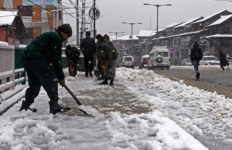 Kashmir, Meteorological Department, Kashmir, Jammu and Kashmir, snowfall