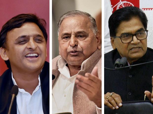Naresh Agarwal, Ram Gopal Yadav, Nirvachan Sadan, Mulayam Singh Yadav, Cycle, Samajwadi Party, Uttar Pradesh,