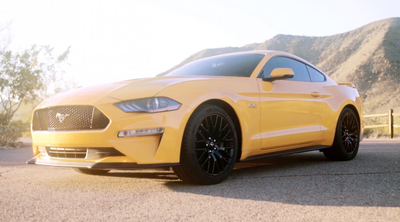 Ford Mustang GT, Ford, 2018 Mustang GT, leaked, video