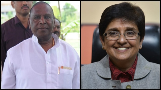 V Narayanasamy, Kiran Bedi, Congress government, Puducherry,
