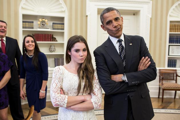 X videoX White HouseX US President-elect Donald Trump'sX Instagram aX Bradley CooperX Meryl StreepX Lena DunhamX Tom HanksX Robert De NiroX Jon Hamm and Jason Sudeiki