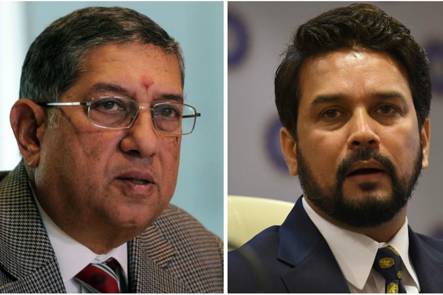 Amitabh Chaudhary, BCCI , Anurag Thakur , N Srinivasan, Supreme Court, Lodha Panel,