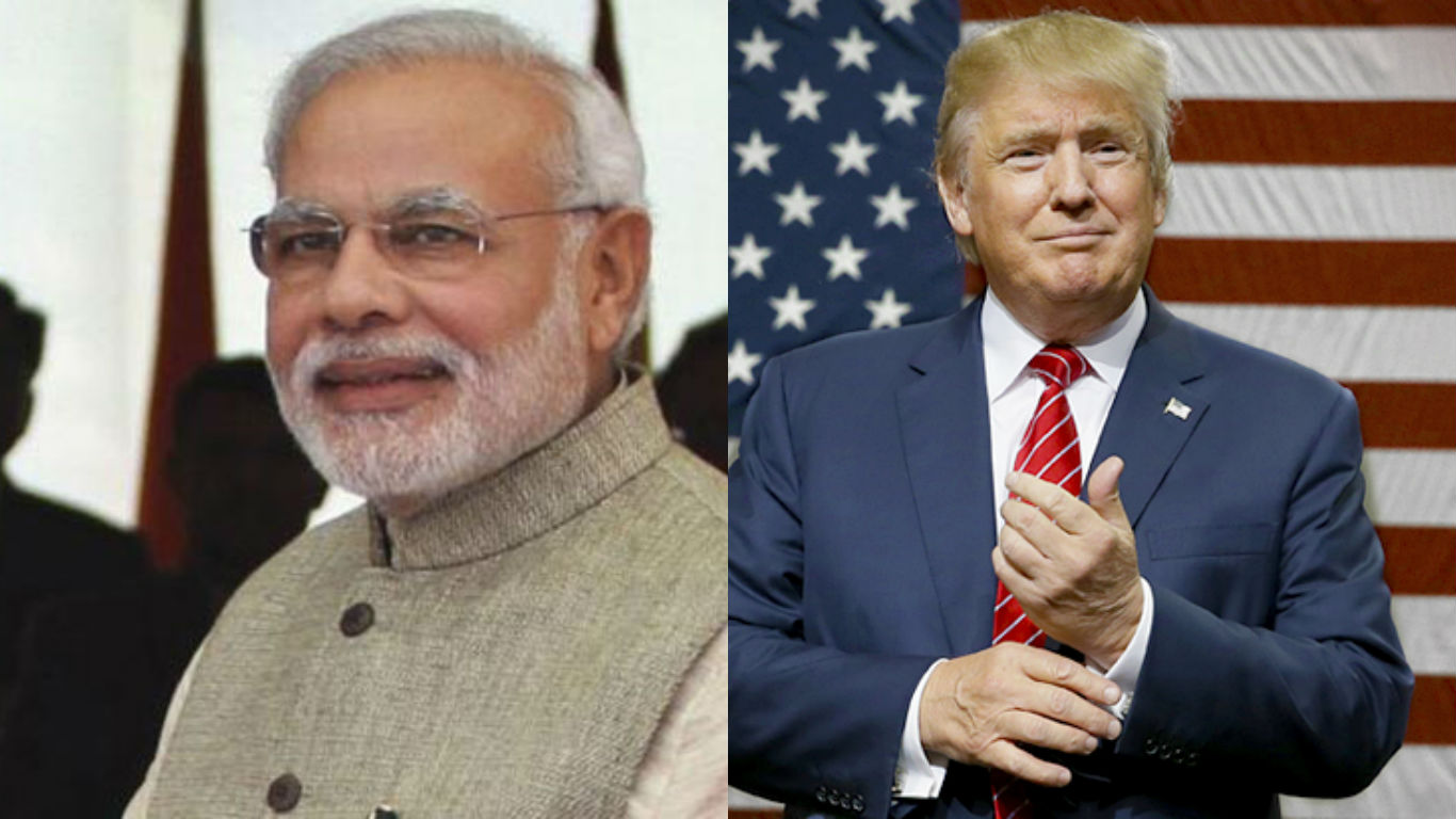 US President, USA, Donald Trump, President trump, Prime Minister, Narendra Modi, Telephone, first call, India, USA, America