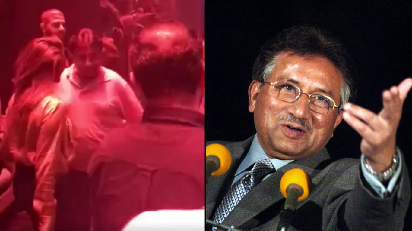 former Pakistan President, General (retd) Pervez Musharraf, Pervez Musharraf, General Musharraf, dancing, bollywood. bollywood songs, kargil, 1999, India, Pakistan