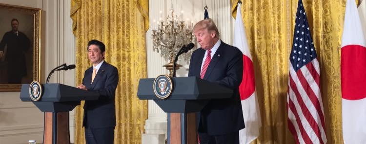 US President, Donald Trump, Japanese Prime Minister, Shinzo Abe, United States, Japan, America, World, News Mobile