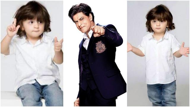 Shahrukh KhanX AbramX SRK