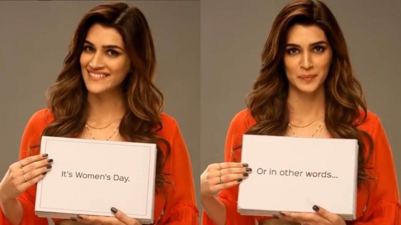 International Women's Day, Kriti Sanon, actress, womens day, post, instagram