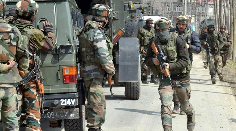Lashkar-e-Toiba, LeT, Awantipora, Kashmir, Pulwama, Padgampora village, Security forces