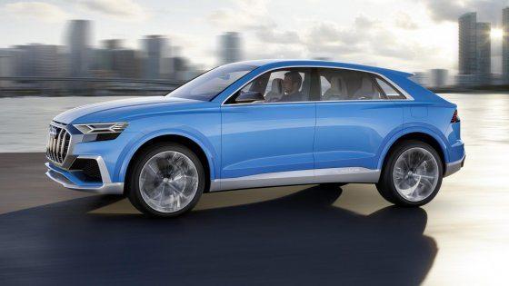 sedan, SUV, Audi, Audi Q4, Audi Q8,