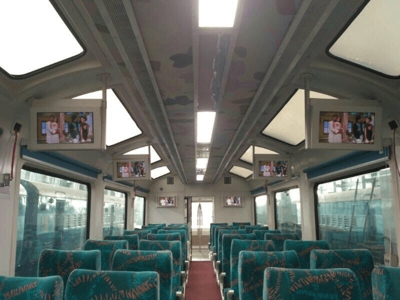 Araku valley, see-through, Vistadome coach, Visakhapatnam-Kirandul passenger train, Railway Minister, Suresh Prabhu, Rs 3.38 crore, 40-seat coach,
