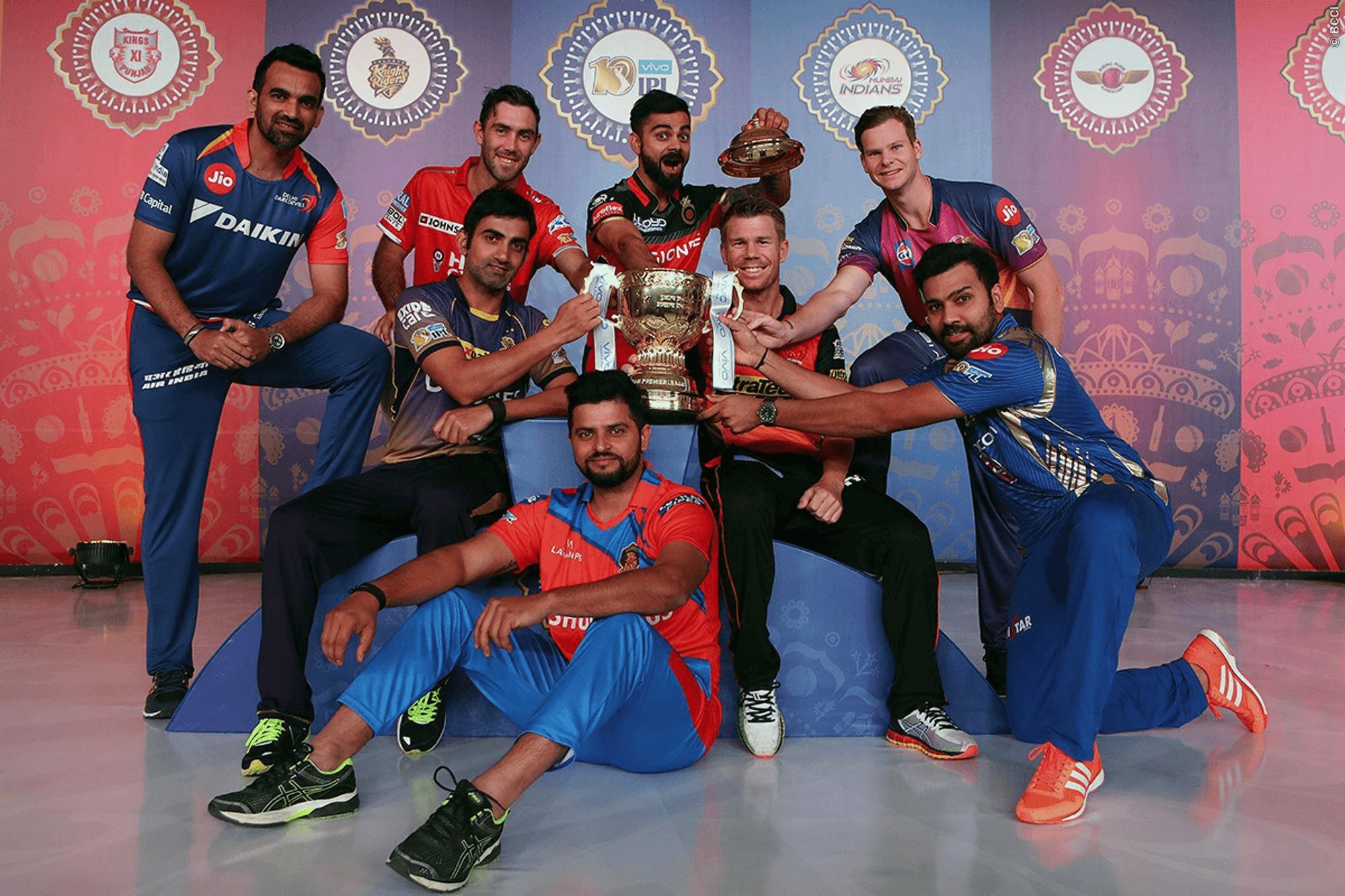 IPL tournament, Indian Premier League, IPL, King's Eleven Punjab, KXIP, Mumbai Indians, MI, Royal Challenger Bangalore, RCB, Rising Pune Supergiants, Virat Kohli, Steve Smith, MS Dhoni