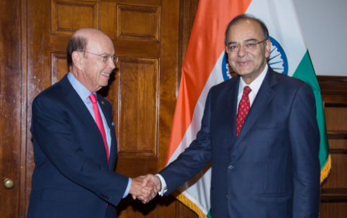 Finance Minister, Arun Jaitley, H-1B visa, US Commerce Secretary, Wilbur Ross, Indian professionals, America,