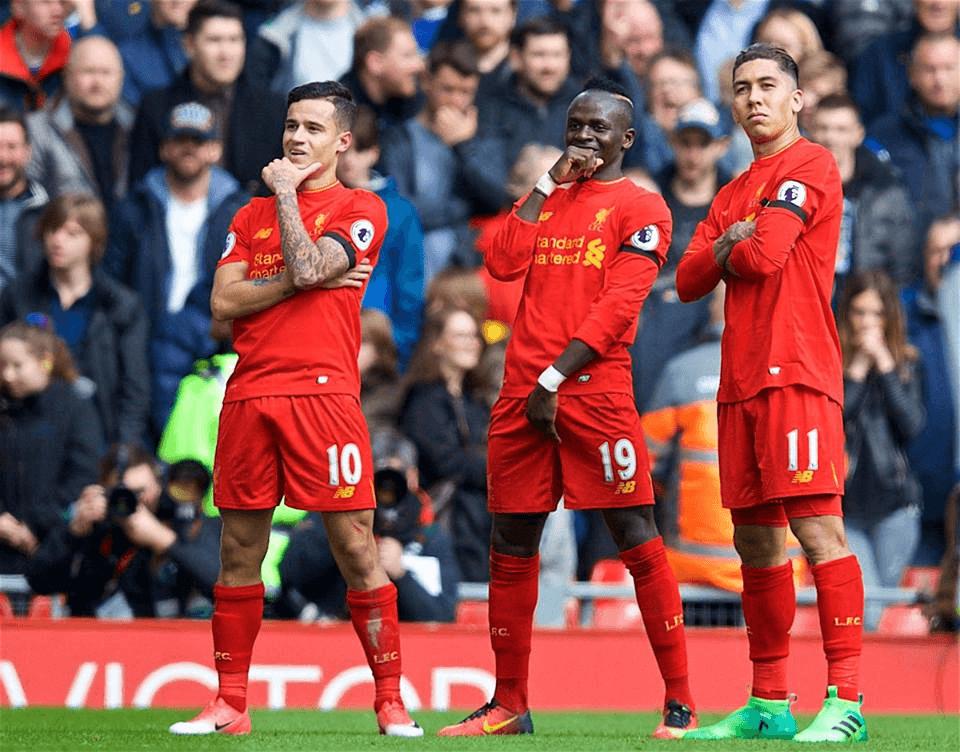 Liverpool, 3-1 win, Everton, Premier League, Sadio Mane, Matthew Pennington,