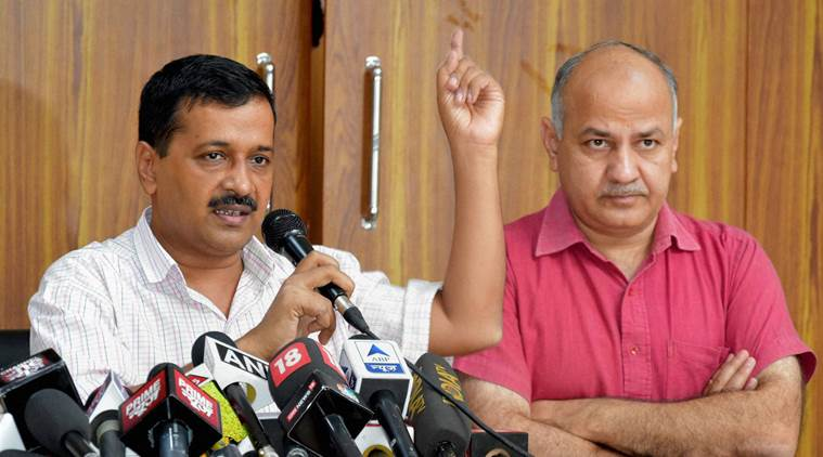 AAP , Civic Polls, BJP