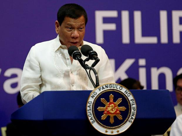 Philippine President, Rodrigo Duterte, 50 times' more brutal, militants, terrorists, eat terrorist's liver